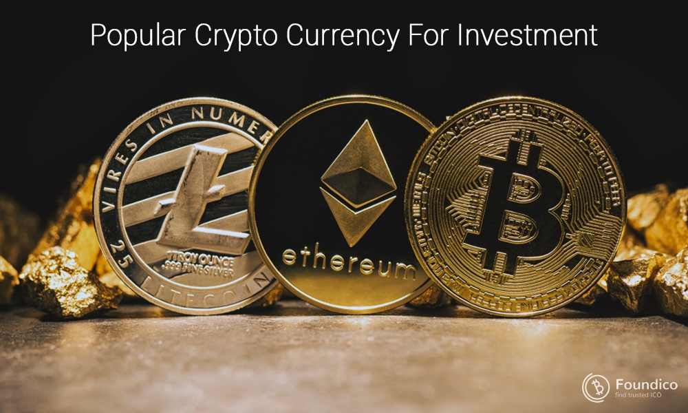 Popular crypto currency for investment