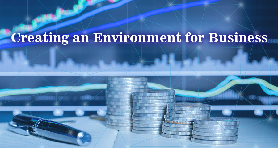 Creating an Environment for Business