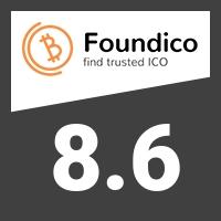 TrustLogics score on Foundico.com