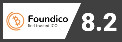 Accounting Blockchain score on Foundico.com